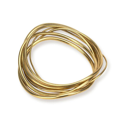 SOKO Wavy Bangle Stack