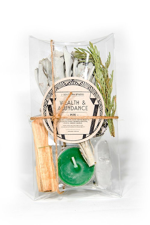 J. Southern Studio Wealth & Abundance Mini Ritual Kit