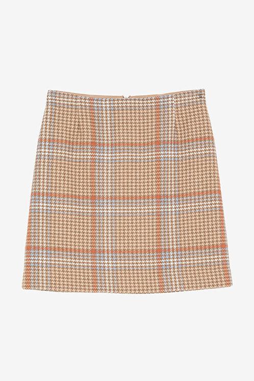 ottod'Ame Tartan Miniskirt