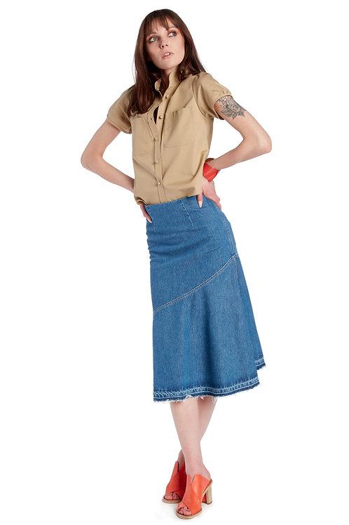 Tela Denim Skirt