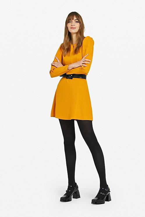 Ottod'ame Dress w/ tucks and zippers