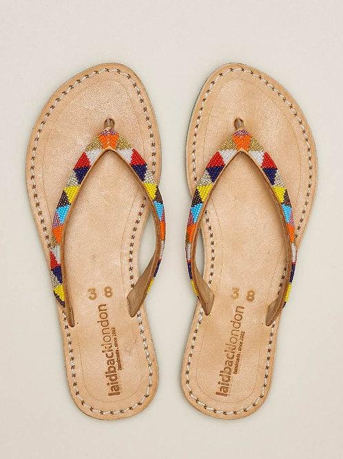 Laidback London Seri SSG Leather Sandal