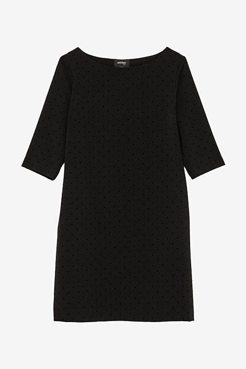 ottod'Ame Midi Dress with Polka Dots
