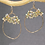 Thumbnail: Hammered Ovals Earrings