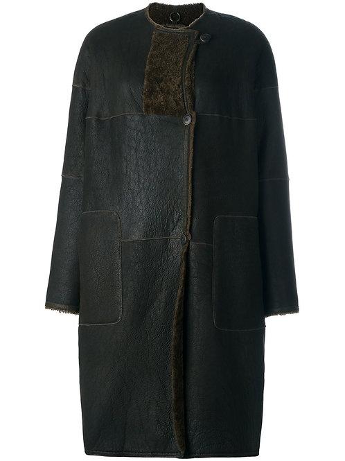 Humanoid Seirra Lambskin Coat