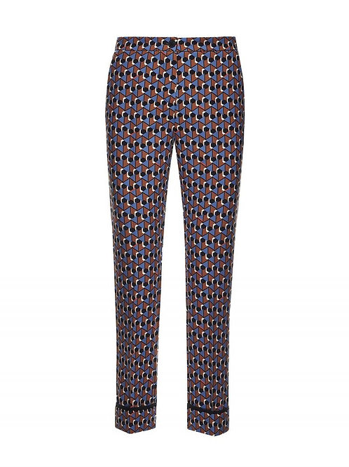 Beatrice b Geometric Print Trousers