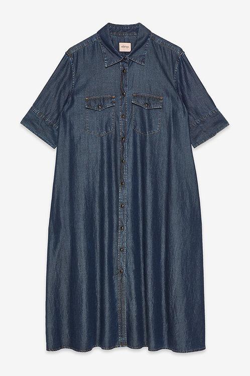 Ottod'Ame Denim Chemisier Dress