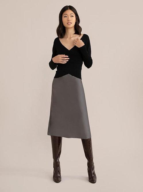 Modern Citizen Dakota Satin Slip Skirt
