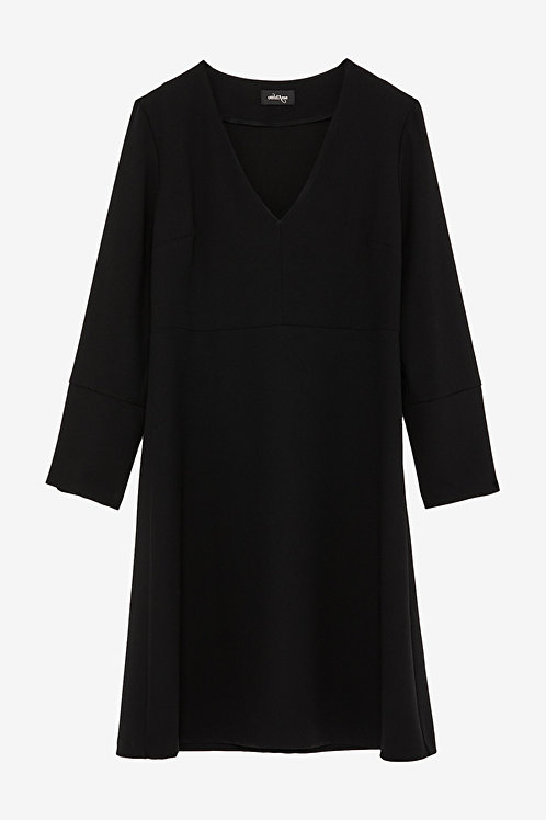 ottod'Ame Bell-shaped Midi Dress
