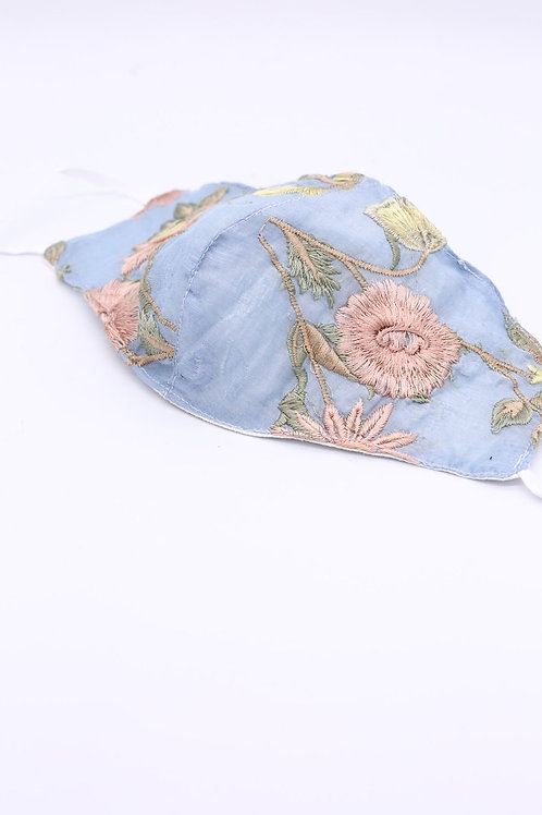 MOMO New York Embroidered Face Mask