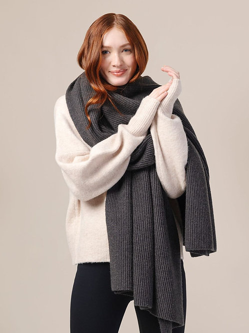 Modern Citizen Chisa Soft Ribbed Scarf