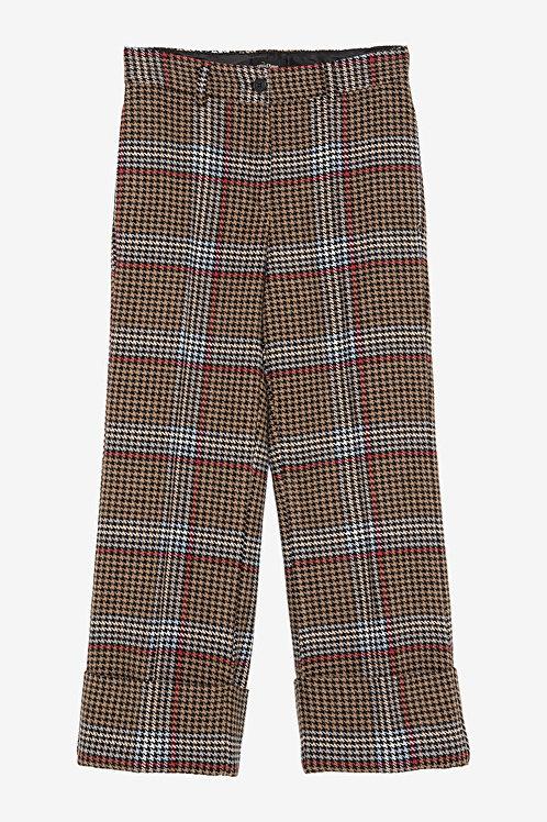 ottod'Ame Tartan Cropped Trousers