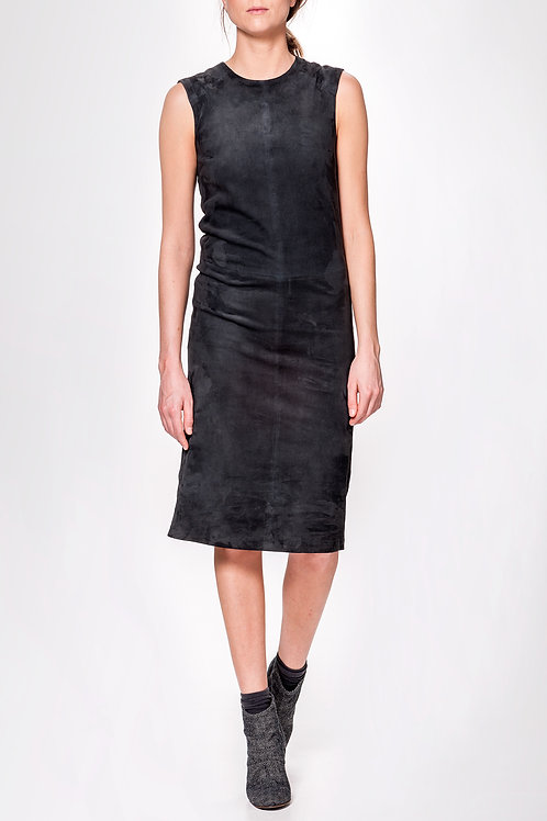 Humanoid Sayo Stretch Suede Dress
