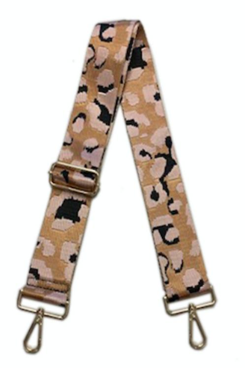Ah-dorned Leopard Bag Strap