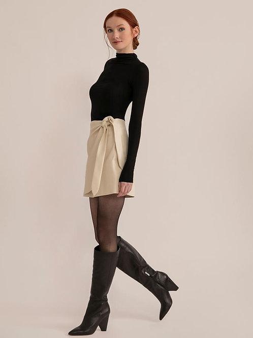Modern Citizen Arabella Faux LeatherWrap Skirt