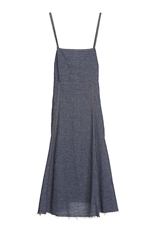 Ottod'Ame Denim Midi Dress