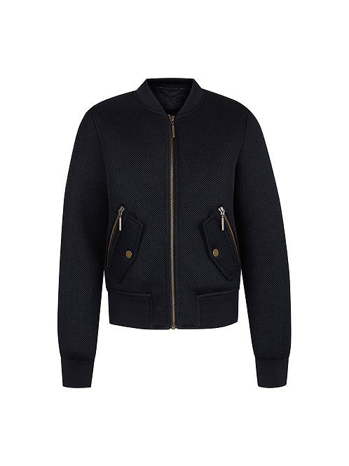 Intropia Quilted Bomber Jacket