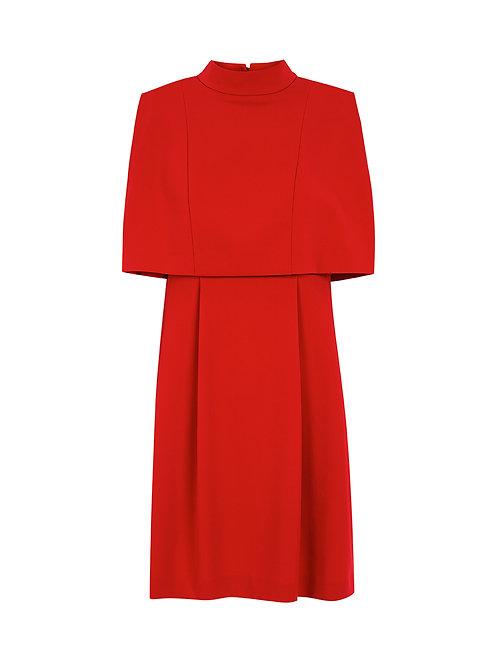 Intropia Overlay Crepe Dress