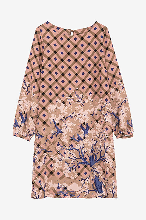 ottod'Ame Printed Midi Dress
