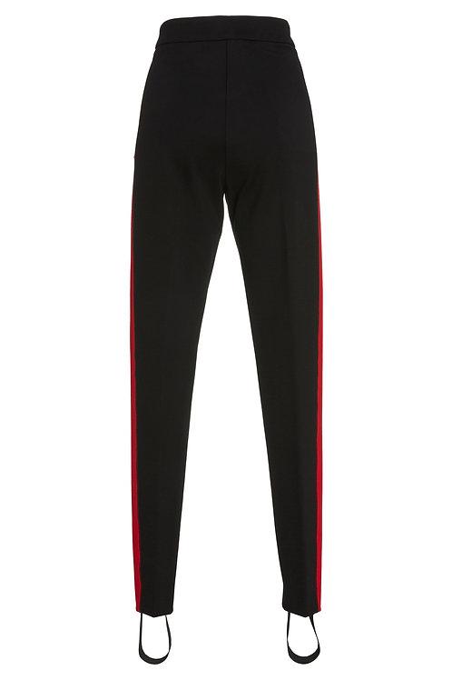 Smarteez Red Stripe Stirrup Pant