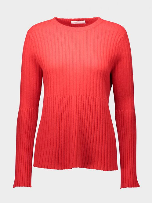 ALLUDE Cashmere Ribbed Sweater