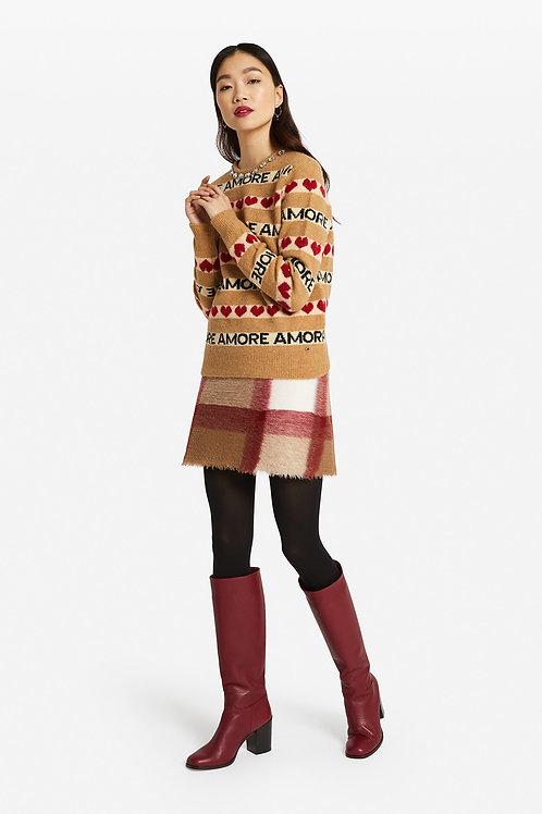 Ottod'Ame Tartan Mini Skirt