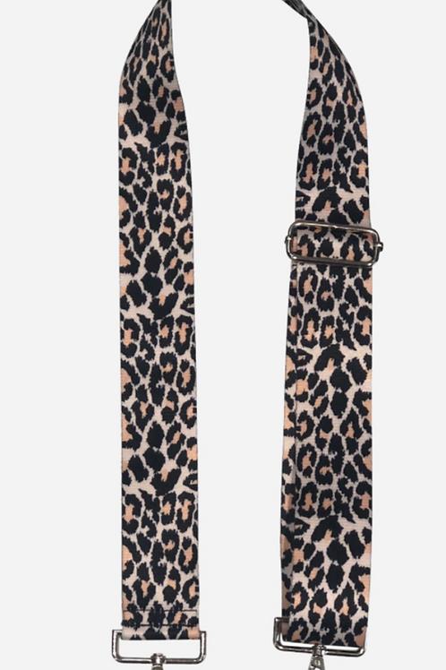 Ah-dorned Cheetah Bag Strap