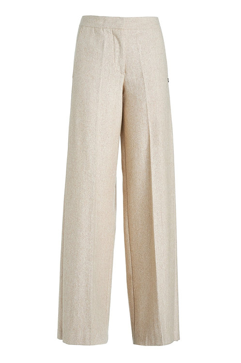 Ottod'Ame Loose Pants with Side Pleats
