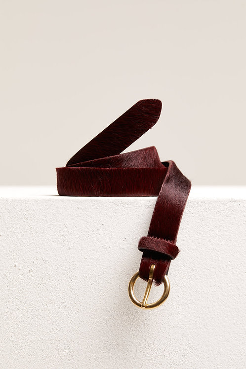CLOSED Cowskin Belt