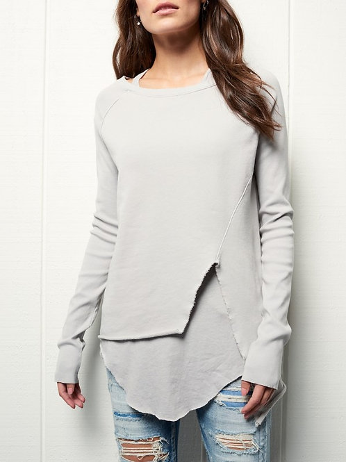 tee lab Asymmetric Sweatshirt