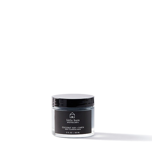 Little Barn Apothecary Coconut Ash +Earth Deep Cleansing Mask