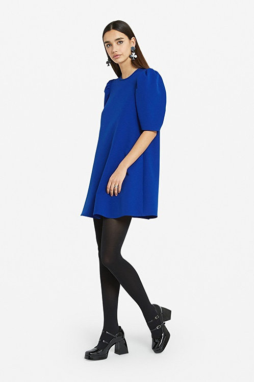 Ottod'Ame Mini Dress with 3/4 Sleeves