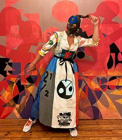 Mina Mania, Dirndl and Canvas