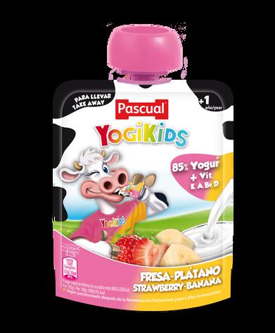 Yogikids Strawberry & Banana- 80g
