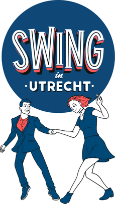 Swing in Utrecht tote bag design  For the SwinginUtrecht orginisation we drew these dancers to fit the logo to be printed on tote bags!