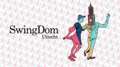 "Swingdom Utrecht illustration  A logo and brand drawn for the Lindy hop festival of Utrecht ""Swingdom"" 2018"