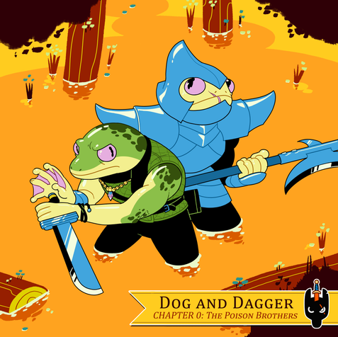 """Dog and Dagger chapter 0  Florian is creating his own project called """"Dog and Dagger"""" an exiting multi media endeaver!"""