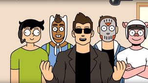 Animated show Vanoss gaming