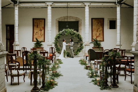 5 Stylish Wedding Aisle Decoration Ideas