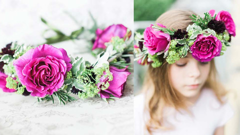 Flowers for Your Flower Girls: Ideas That They'll Love