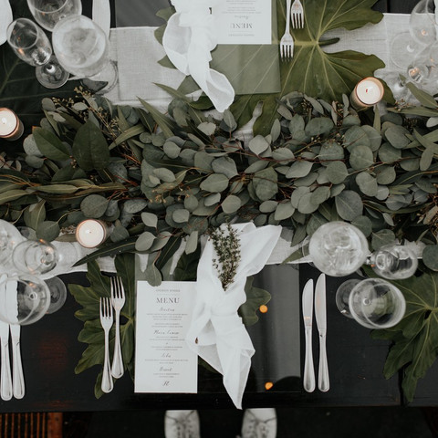 Stunning Eucalyptus Wedding Decor Ideas