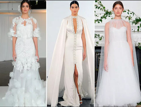 Top Trends From Fall 2018 Bridal Fashion Week