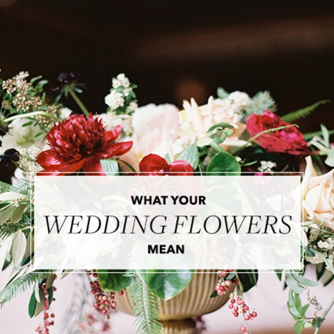 The Meanings Of The Most Popular Wedding Flowers
