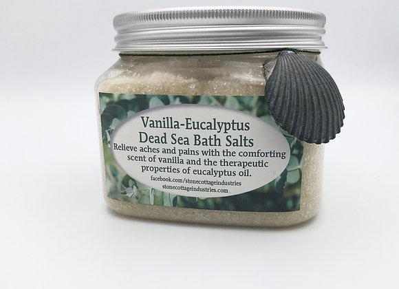 Vanilla Eucalyptus Dead Sea Bath Salts