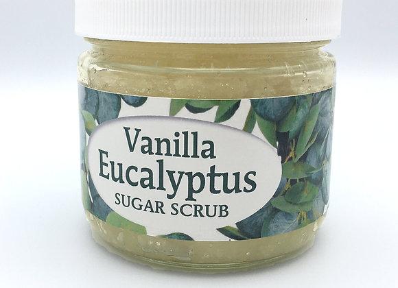 Vanilla Eucalyptus Sugar Scrub