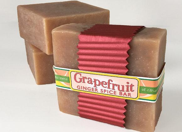 Grapefruit Ginger Spice Bar