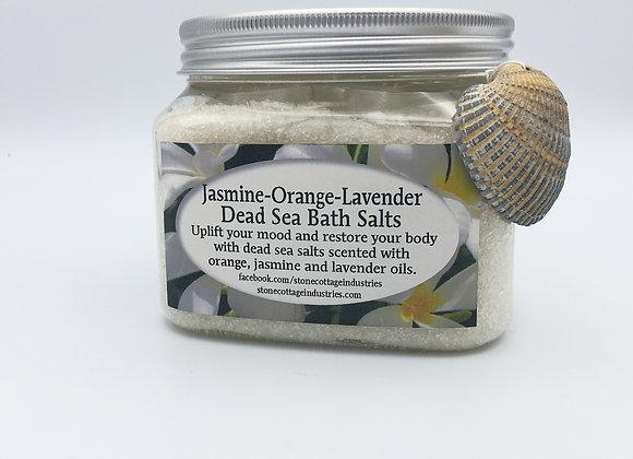 Jasmine, Orange, Lavender Dead Sea Bath Salts