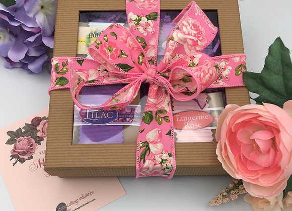 Box of Floral Soaps