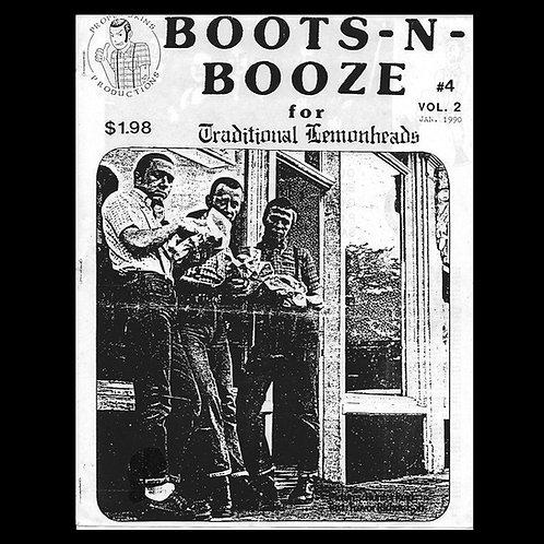 Boots N' Booze No.4 Vol.2