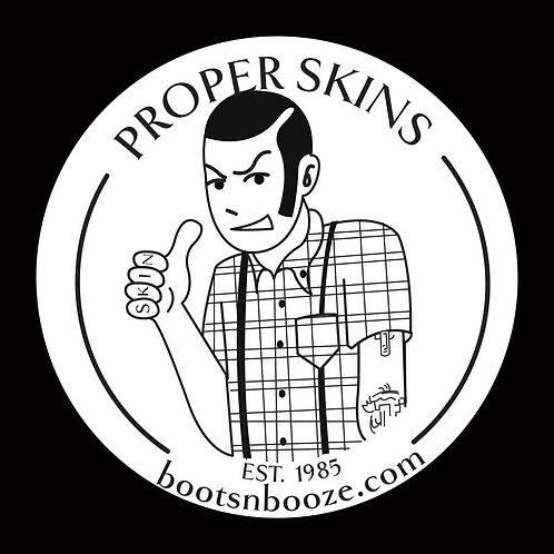 Proper Skins Sticker